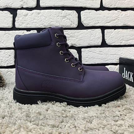 Зимові черевики (на хутрі) Timberland 11-041 ⏩ [ 37,39,40 ], фото 2