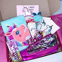 """Подарок для девочки подарочный набор от WowBoxes """"Unicorn Box №5"""""""