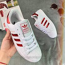 Кросівки жіночі Adidas Superstar 0003 ⏩ [ 40 останній размаер], фото 2