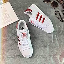 Кросівки жіночі Adidas Superstar 0003 ⏩ [ 40 останній размаер], фото 3