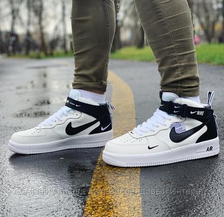 Кросівки високі Nike Air Force Найк Аір Форс (45 останній розмір), фото 2