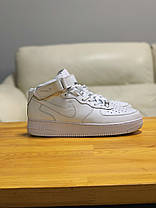 Кроссовки  высокие натуральная кожа Nike Air Force Найк Аир Форс (41,42), фото 3