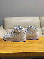 Кроссовки  высокие натуральная кожа Nike Air Force Найк Аир Форс (41,42), фото 2