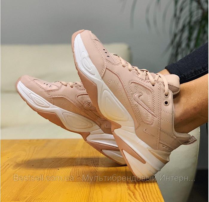 Кросівки натуральна шкіра Nike M2K Tekno Найк М2К Текно (36,37)