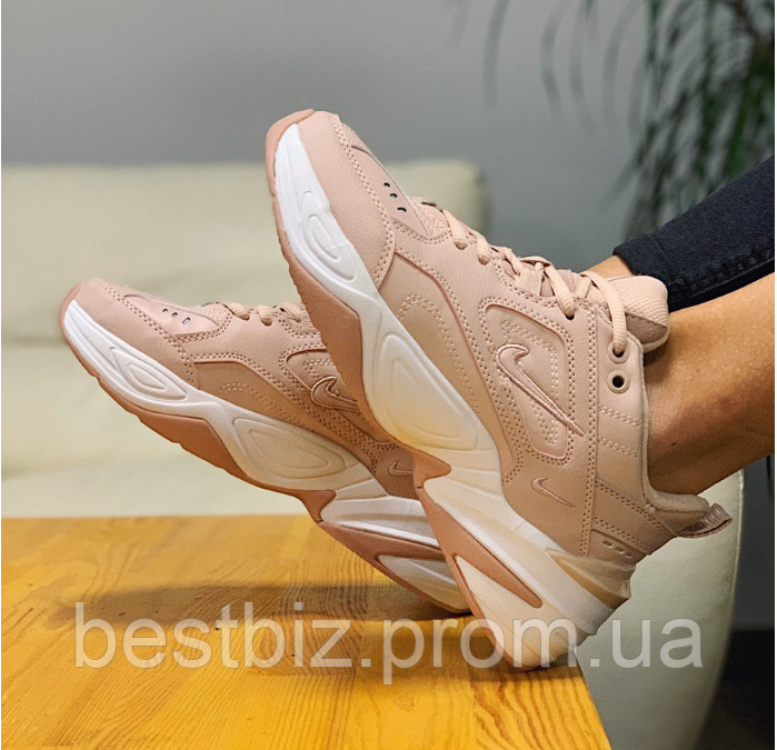 Кроссовки  натуральная кожа Nike M2K Tekno Найк М2К Текно (36,37)