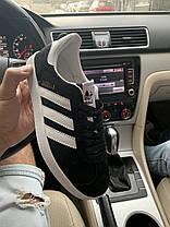 Кроссовки натуральная замша Adidas Gazelle Адидас Газель  (36,37,38,41), фото 2