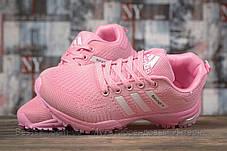 Кроссовки женские 17002, Adidas Marathon Tn, розовые, [ 37 38 ] р. 37-23,0см., фото 3
