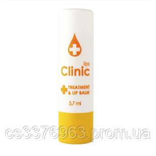 Бальзам для губ с эфирными маслами Eva Сosmetics Clinic  с лимонным маслом