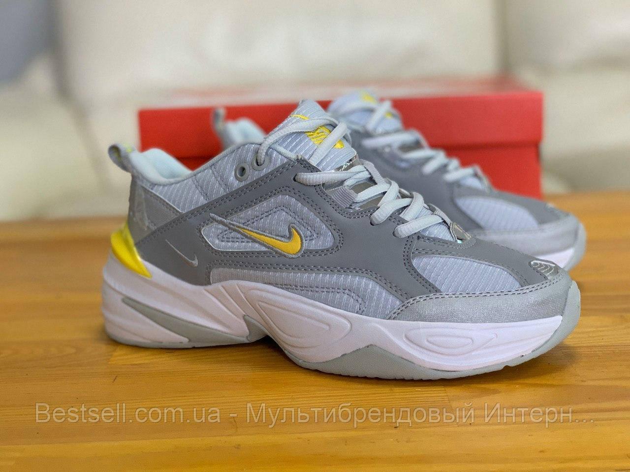 Кроссовки  натуральная кожа Nike M2K Tekno Найк М2К Текно (36,40)