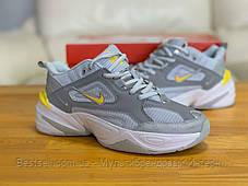 Кроссовки  натуральная кожа Nike M2K Tekno Найк М2К Текно (36,40), фото 2
