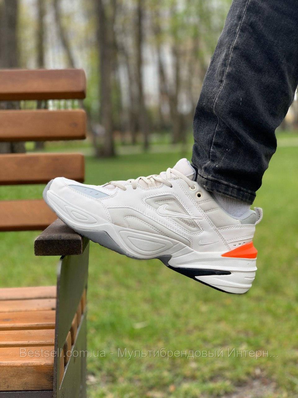 Кросівки натуральна шкіра Nike M2K Tekno Найк М2К Текно (43,44,45)
