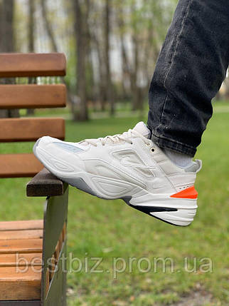 Кросівки натуральна шкіра Nike M2K Tekno Найк М2К Текно (43,44,45), фото 2