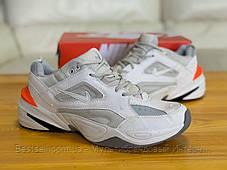 Кросівки натуральна шкіра Nike M2K Tekno Найк М2К Текно (43,44,45), фото 3