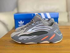 Кроссовки натуральная кожа Adidas Yeezy Boost 700 V2 Адидас Изи Буст (37,38), фото 3
