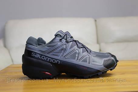 Кроссовки SALOMON SPEEDCROSS 5 , Саломон Спидкросс (41,42,43,44,45), фото 2