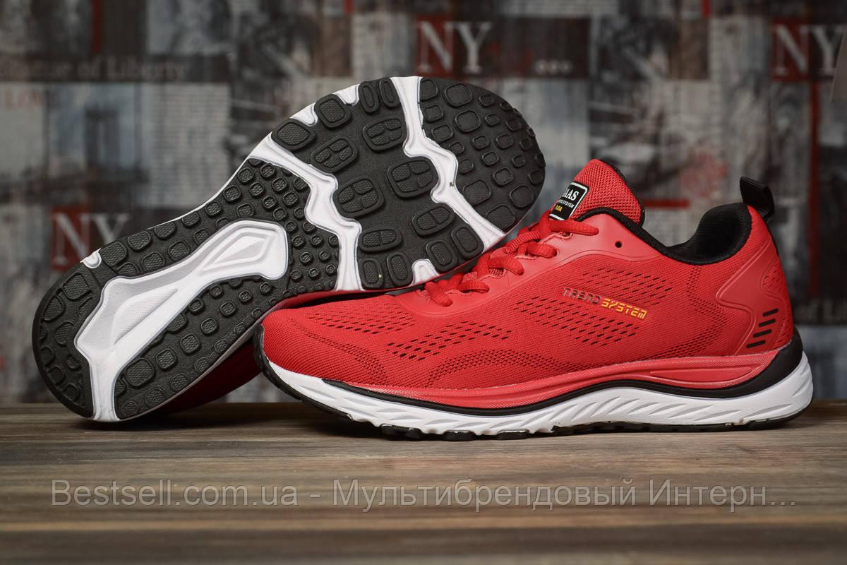 Кроссовки мужские 10325, BaaS Ploa Running, красные, [ 46 ] р. 44-28,0см.