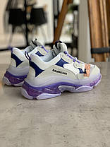 Кроссовки Balenciaga Triple S VIOLET Баленсиага Трипл С Фиолетовые (40 последний размер), фото 2