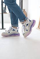 Кросівки Balenciaga Triple S VIOLET Баленсіага Тріпл З Фіолетові (37,40), фото 3