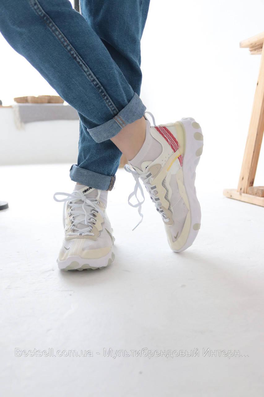 Кросівки Nike REACT ELEMENT Найк Реактив Елемент (36,37,38,39,40)