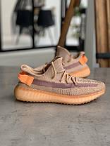 Кросівки Adidas Yeezy Boost 350 V2 Адідас Ізі Буст В2 (36,37,38,39,40) репліка, фото 3