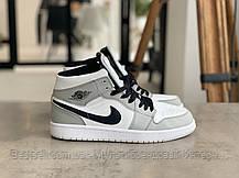 Кроссовки Nike Air Jordan 1 Retro Grey Найк Аир Джордан 1 Ретро Серые (42,43,44,45), фото 2