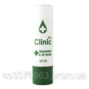 Бальзам для губ с эфирными маслами Eva Сosmetics Clinic  с экстрактом зелёного чая