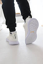 Кросівки Adidas Alphabounce Instinct White Адідас Альфабаунс Інстинкт Білі (41,42,43,44,45), фото 3
