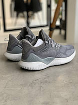 Кроссовки Adidas Alphabounce Instinct Grey Адидас Альфабаунс Инстинкт Серые (41,42,44,45), фото 2