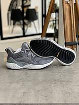 Кроссовки Adidas Alphabounce Instinct Grey Адидас Альфабаунс Инстинкт Серые (41,42,44,45), фото 3