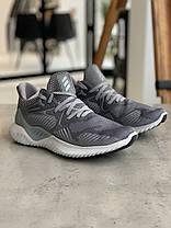 Кросівки Adidas Alphabounce Instinct Grey Адідас Альфабаунс Інстинкт Сірі (41,42,44,45), фото 2