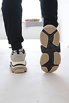 Кроссовки Balenciaga Triple S Beige&Milk Баленсиага Трипл С [41,42], фото 3