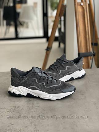 Кроссовки Adidas Ozweego Grey Адидас Озвиго Серые (41,42,43,44,45), фото 2