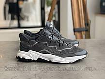 Кроссовки Adidas Ozweego Grey Адидас Озвиго Серые (41,42,43,44,45), фото 3