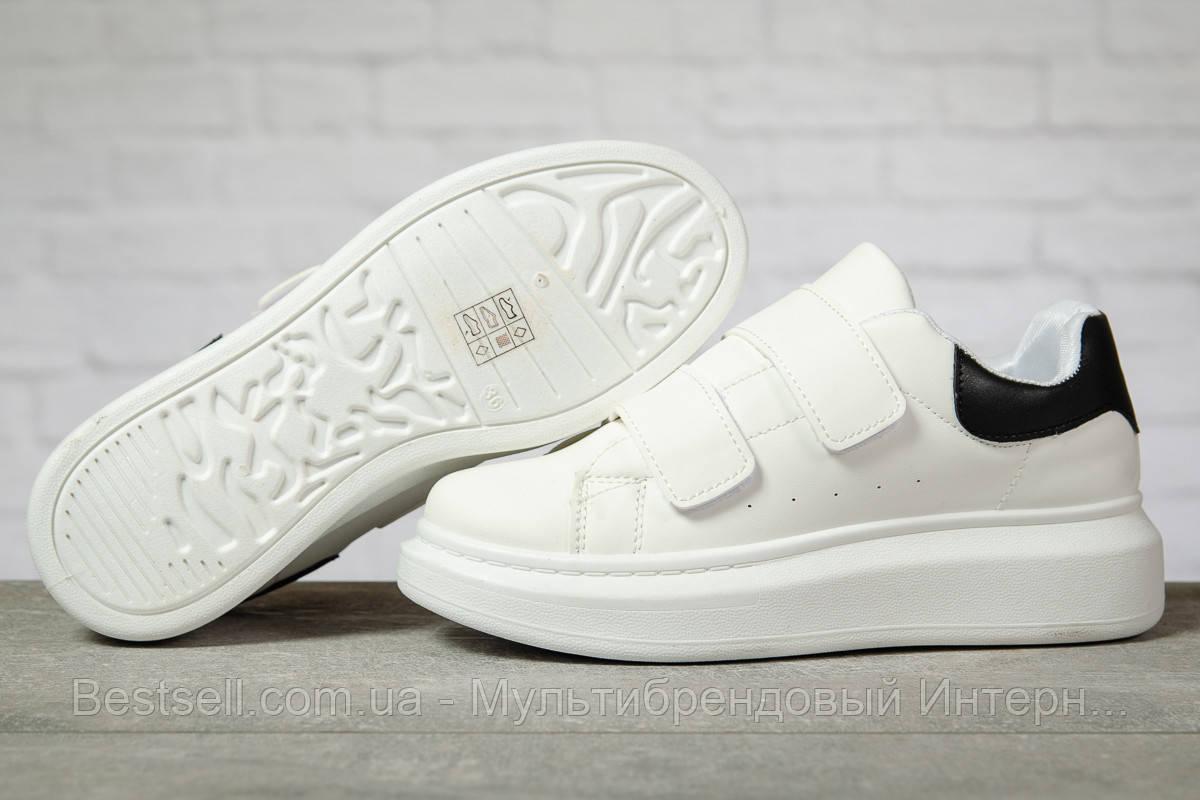 Кроссовки женские 17171, MkQueen, белые, [ 38 ] р. 38-24,2см.