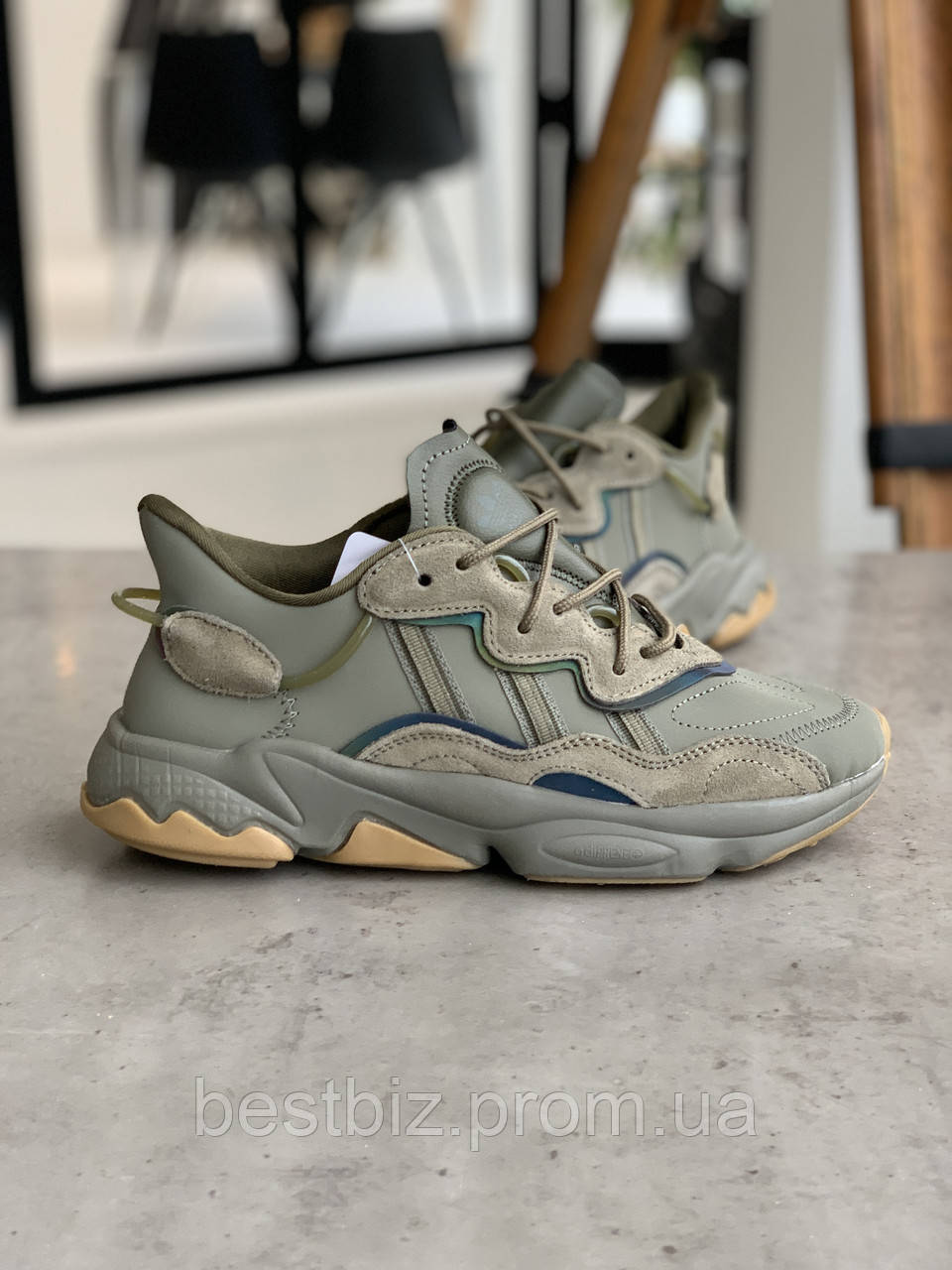 Кросівки Adidas Ozweego Haki Адідас Озвиго Хакі (41,42,43,44)