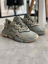 Кросівки Adidas Ozweego Haki Адідас Озвиго Хакі (41,42,43,44), фото 3