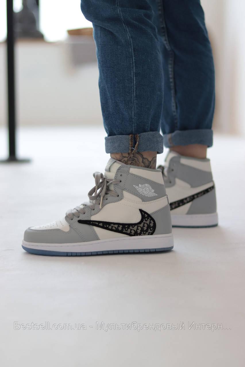 Кроссовки Nike Air Jordan х Dior Найк Аир Джордан x Диор  (37,38)
