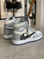 Кроссовки Nike Air Jordan х Dior Найк Аир Джордан x Диор  (37,38), фото 3