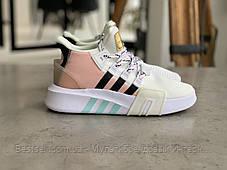 Кроссовки Adidas EQT Bask Adv White Адидас Ект Баск Белые [ 37,38 ], фото 3