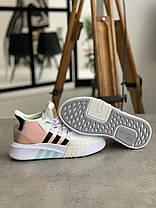 Кроссовки Adidas EQT Bask Adv White Адидас Ект Баск Белые [ 37,38 ], фото 2
