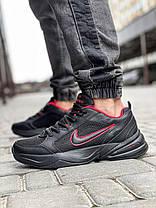 Кросівки чоловічі 18511, Nike Air Monarch, чорні, [ 42 43 44 45 46 ] р. 41-26,5 див., фото 3