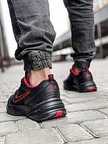 Кроссовки мужские 18511, Nike Air Monarch, черные, [ 42 43 44 45 46 ] р. 41-26,5см., фото 2