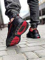 Кроссовки мужские 18511, Nike Air Monarch, черные, [ 42 43 44 45 46 ] р. 41-26,5см., фото 3