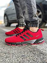 Кросівки чоловічі 18531, Adidas Marathon Tr, червоні, [ 43 ] р. 41-26,8 див., фото 3
