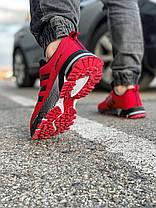 Кроссовки мужские 18531, Adidas Marathon Tr, красные, [ 43 ] р. 41-26,8см., фото 3