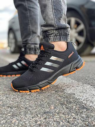 Кроссовки мужские 18533, Adidas Marathon Tr, черные, [ 42 43 44 45 ] р. 41-26,8см., фото 2
