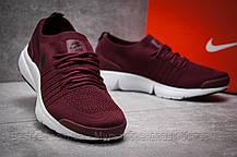 Кроссовки мужские 12552, Nike Air, бордовые, [ нет в наличии ] р. 41-25,9см., фото 3