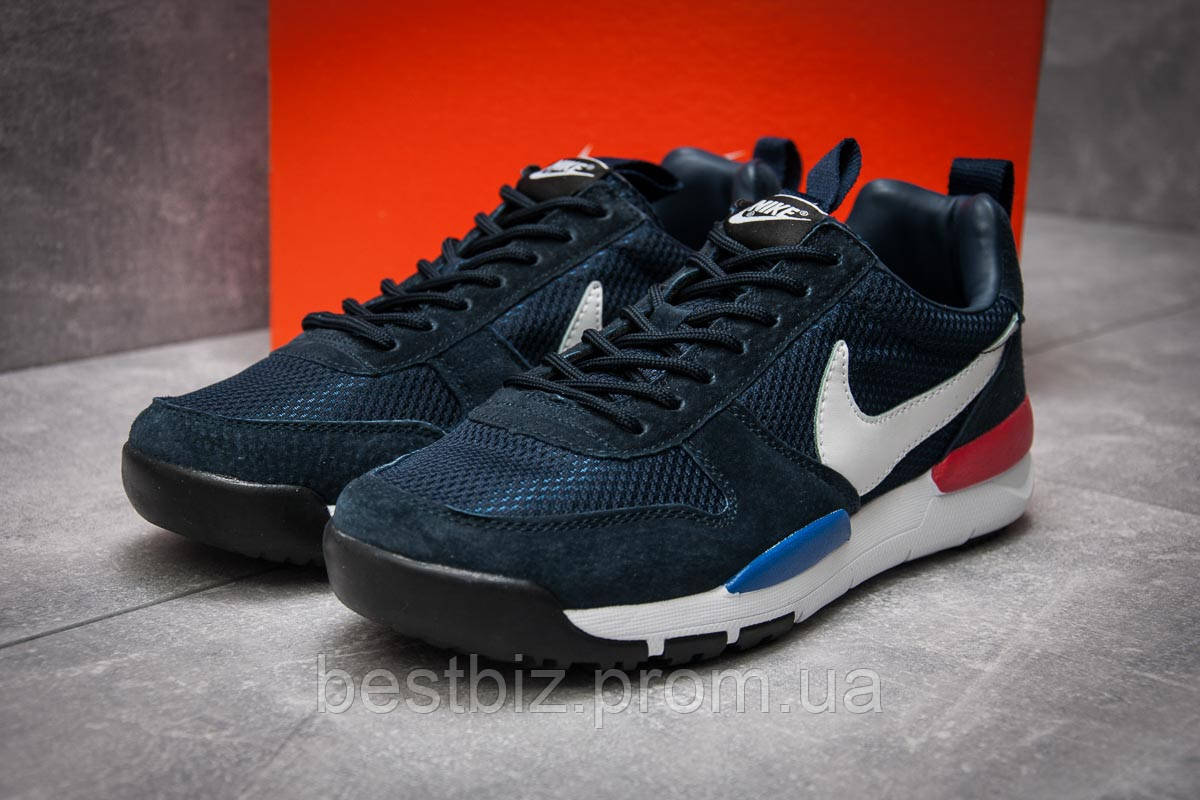 Кросівки чоловічі 12583, Nike, темно-сині, [ 44 ] р. 44-28,4 див.