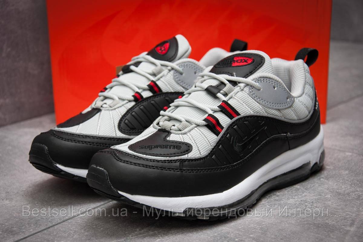Кроссовки мужские 12673, Nike Aimax Supreme, черные, [ нет в наличии ] р. 42-26,4см.
