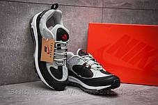 Кроссовки мужские 12673, Nike Aimax Supreme, черные, [ нет в наличии ] р. 42-26,4см., фото 3